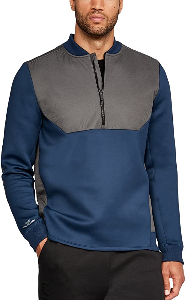 Under Armour UA Unstoppable Gore Windstopper ½ Zip MD Nighttime Blue