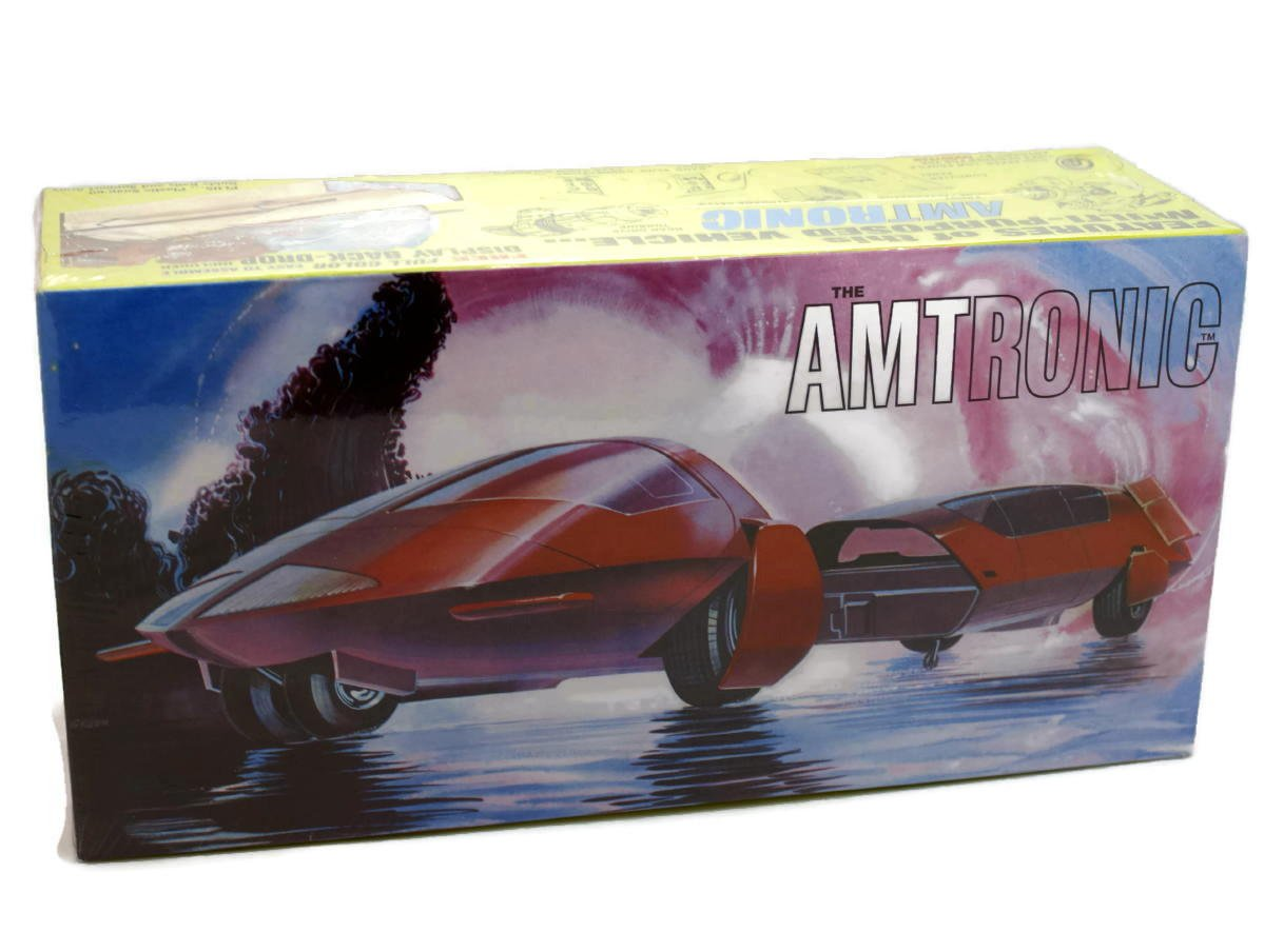 AMT Amtronic Car of the Future 1 25 Scale Model Kit by AMT