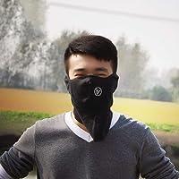 Ciclismo Wamer paño grueso y suave caliente para toda la cara cubierta anti-polvo a prueba de viento máscara de esquí del Snowboard de la capilla anti-polvo de bicicletas Pasamontañas térmica Bufanda Mascarilla
