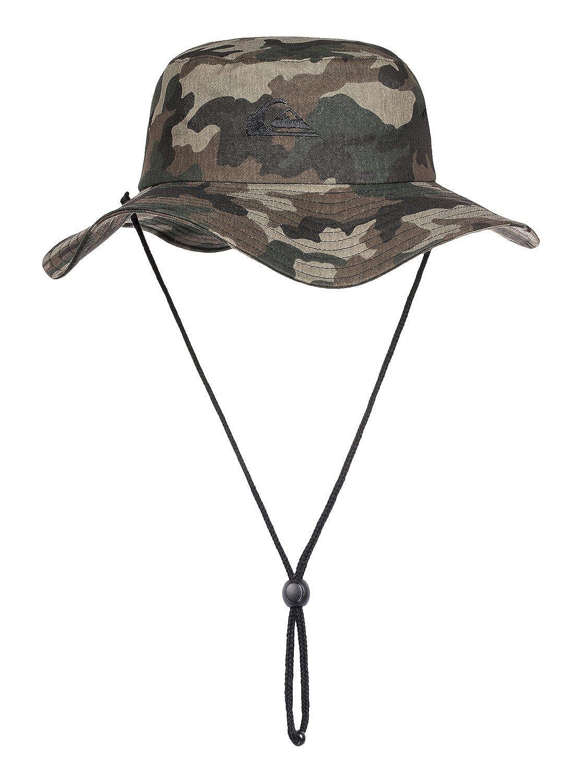 48c406edee97 Amazon.com: Quiksilver Men's Bushmaster Floppy Sun Beach Hat: Clothing