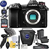 Panasonic Lumix DC-G9 Mirrorless Micro Four Thirds Digital Camera (Body Only) w/ 32 GB Memory and Basic Accessory Bundle