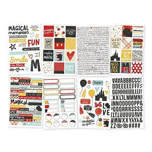 Simple Stories say Cheese 3adesivi, multicolore, 4x 15,2cm 7922