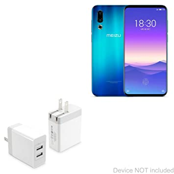 Amazon.com: BoxWave Meizu 16Xs Charger, [Dual High Current ...