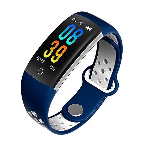 Frequenza cardiaca Fotografica Impermeabile Bluetooth Intelligente Bracciale Sport Contapassi Fitness Sangue Calorie Pressione Wristband