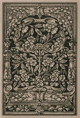 P160501 4 Vlies Wandbild Foto Tapete Jugendstil Jugendstil