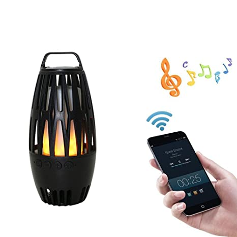 Review LED Flame Bluetooth Speaker