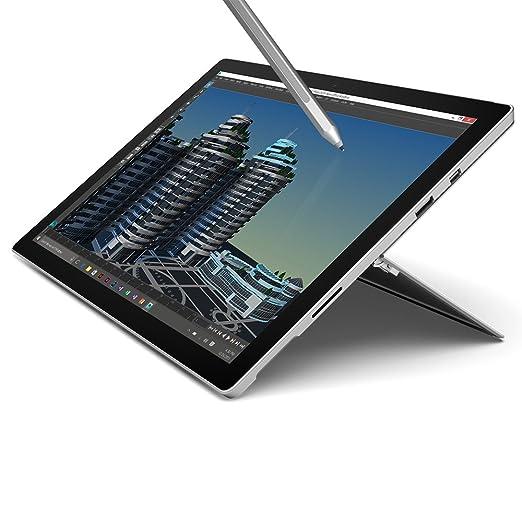 122 opinioni per Microsoft Surface Pro 4 Tablet, Processore i5, SSD da 256GB, RAM 8GB, Argento