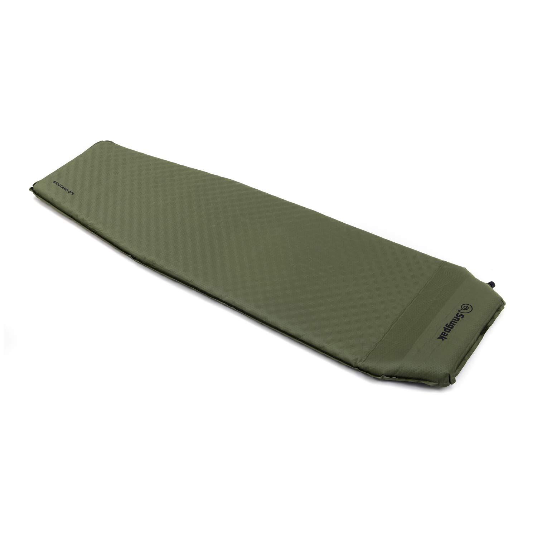 Snugpak(スナグパック) XLセルフインフレーティングマット オリーブ ピロー内蔵式 エアーマット 寝袋 キャンプ アウトドア (日本正規品)