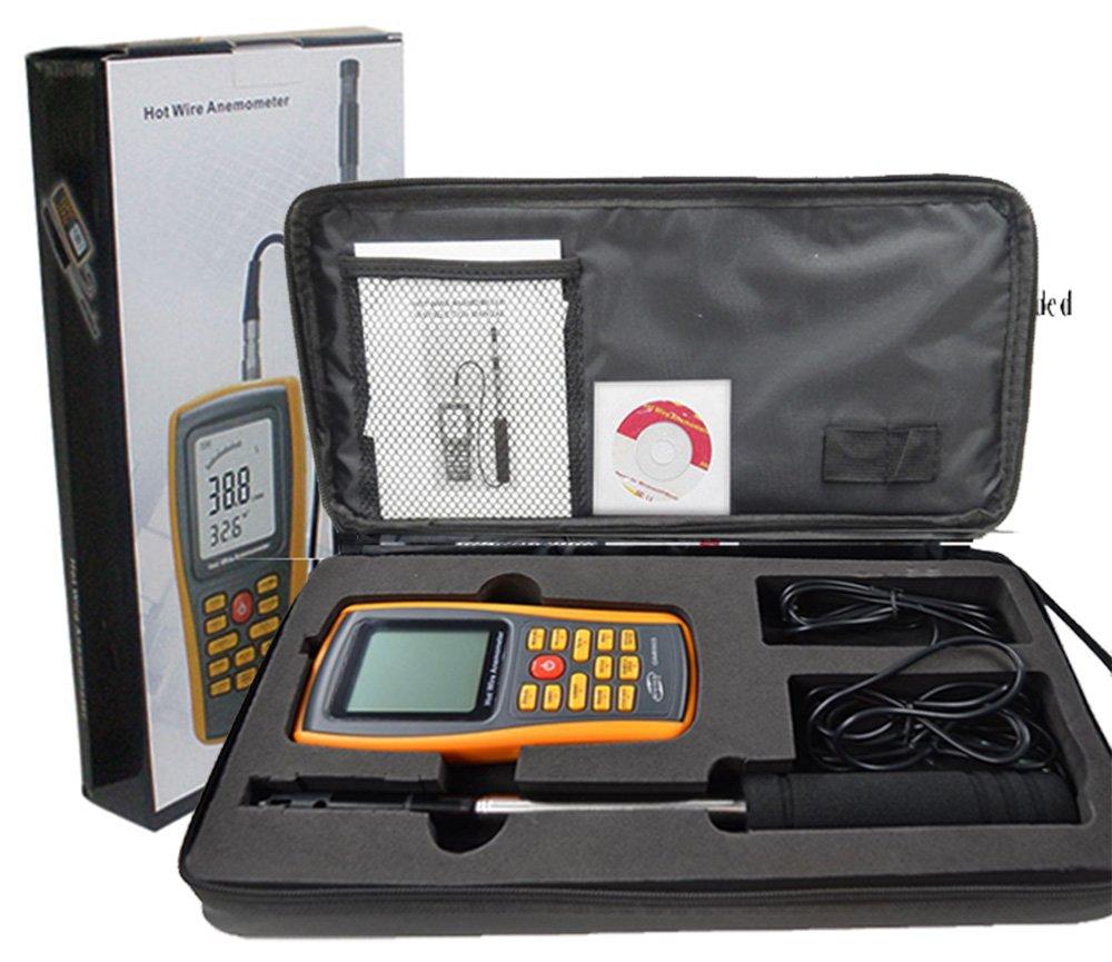 Amazon.com : VETUS INSTRUMENTS GM8903 Digital Hot Wire Anemometer ...