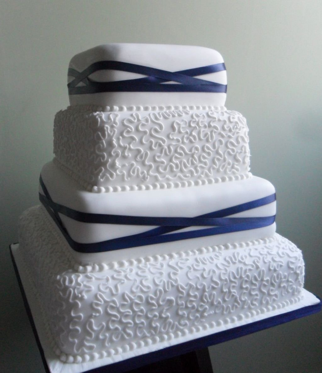 Set of 4 Tier Square Multilayer Birthday Wedding Anniversary Cake Tins/Pans/Mold (Mould) by Hufsy by Protins (Image #1)