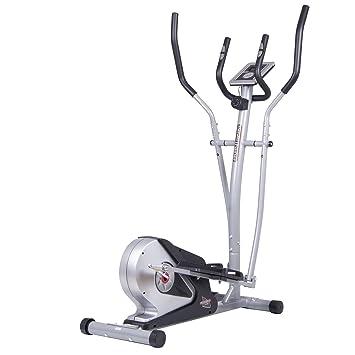 Cuerpo Champ br2508 – Bicicleta elíptica magnética con corazón tasa tecnología - BR2508, Negro/