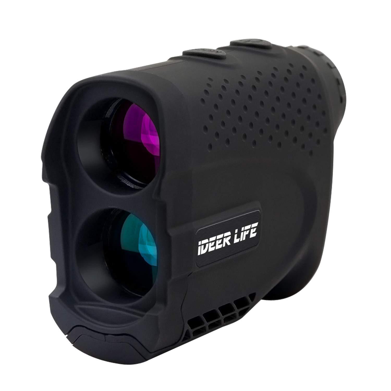 Golf Rangefinder, 6X Golf Laser Rangefinder 900 Yards, Flag-Lock, Slope Tech, 4 Scan Mode, Linear &Vertical Distance, Angle &Speed Measurement, Fog Resistant-Tournament Legal Golf Rangefinder, iDeer by IDEER LIFE
