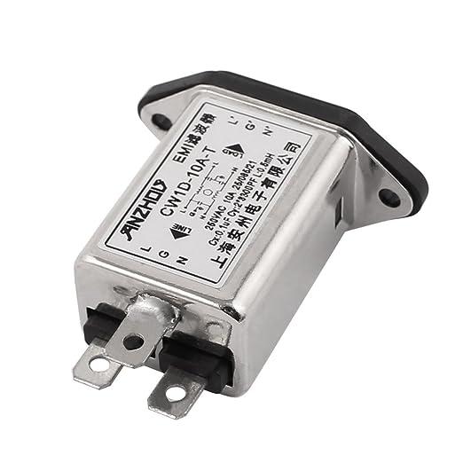 3 opinioni per IEC 320C14presa maschio per pannello alimentazione filtro EMI CW1D-10A-T