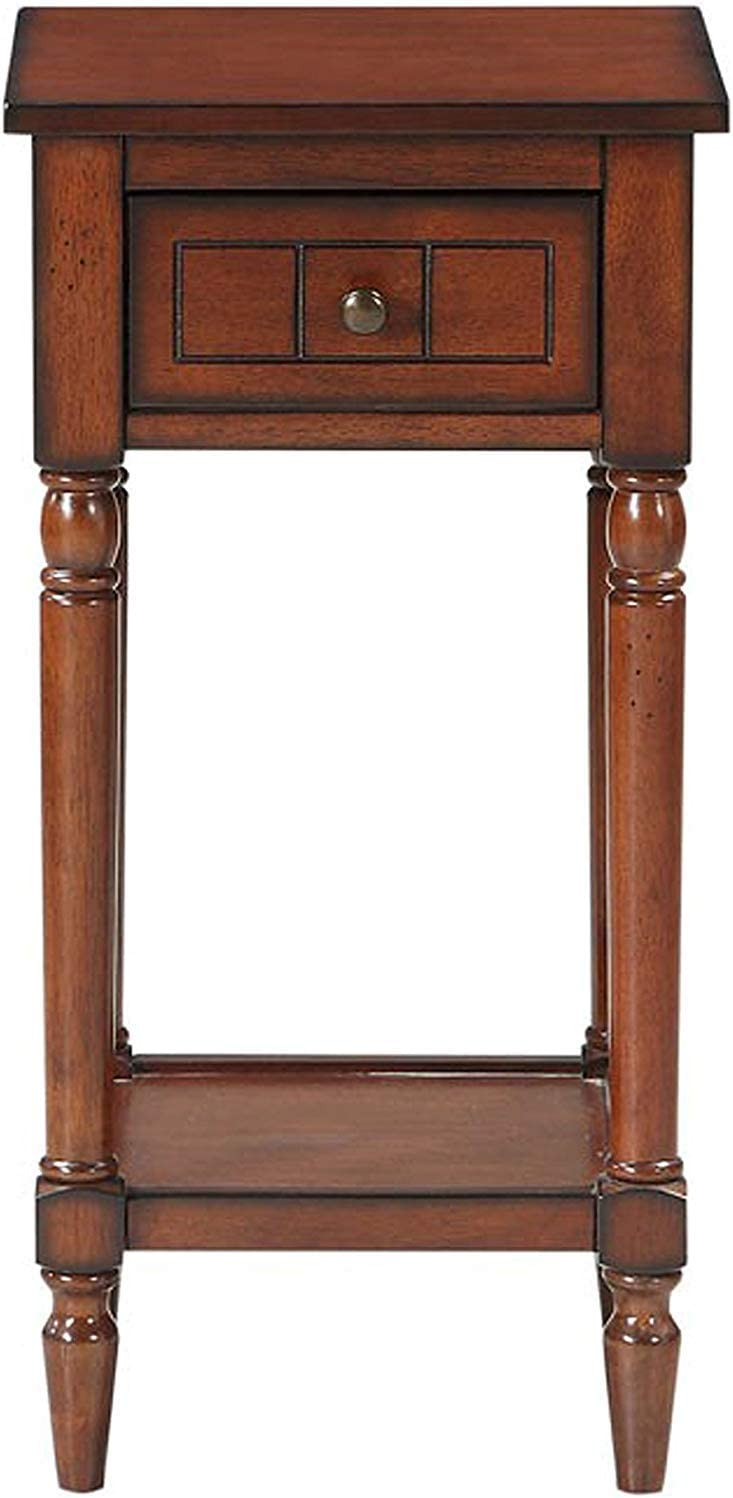 Convenience Concepts French Country Khloe Accent Table, Mahogany
