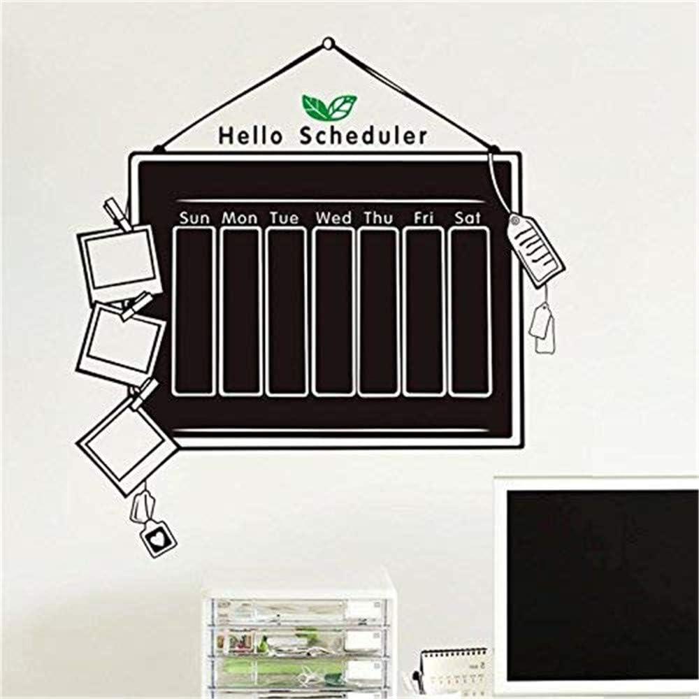 Zooarts Vinilo adhesivo de pared, diseño de organizador, pizarra ...