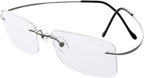 Eyekepper Lunettes de vue//lunettes de lecture percee style sans monture pour homme femme 1.00