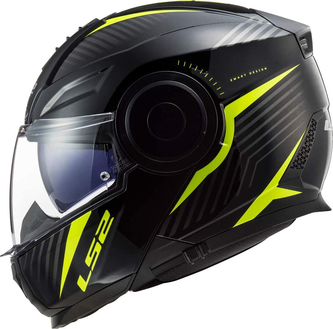 Black Motorcycle helmets LS2 FF902 SCOPE SOLID MATT BLACK XL
