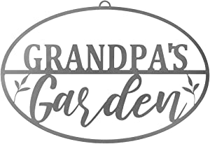 ROCC RUSTED ORANGE CRAFTWORKS CO. Garden Oval for Him (Grandpa's Garden Oval)