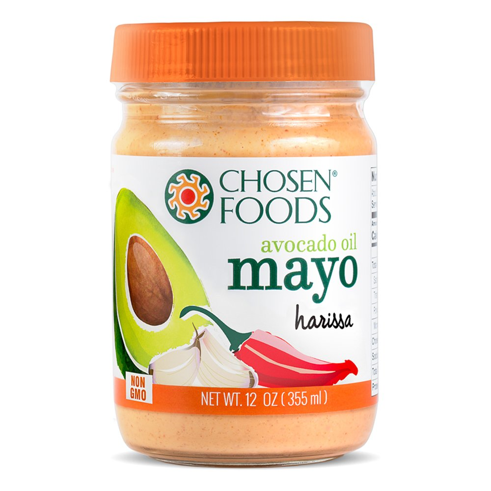 Chosen Foods Mayo Avocado Oil Harissa, 12 oz