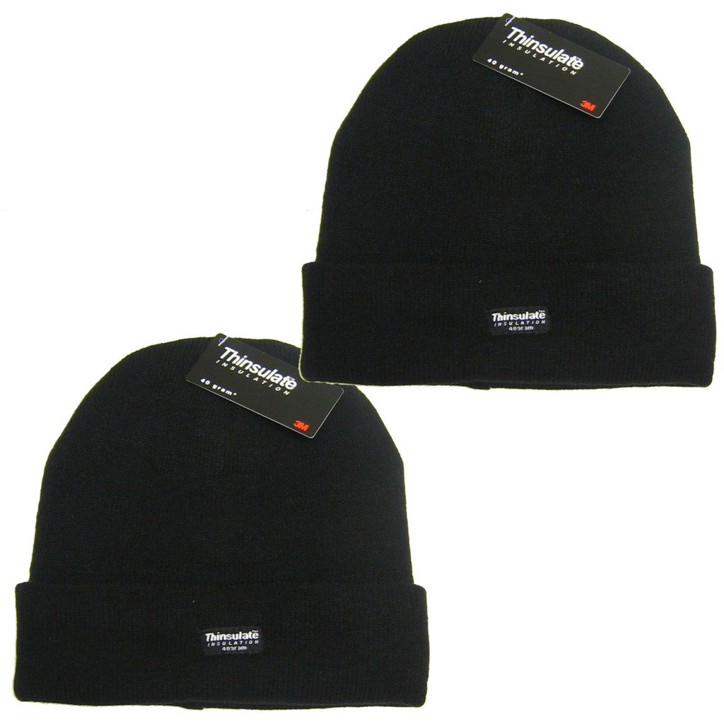 64d7e1129 All Trade Direct 2 X 3M Thinsulate Knitted Wool Hat Breathable Ski Thermal  Winter Beanie Wooly