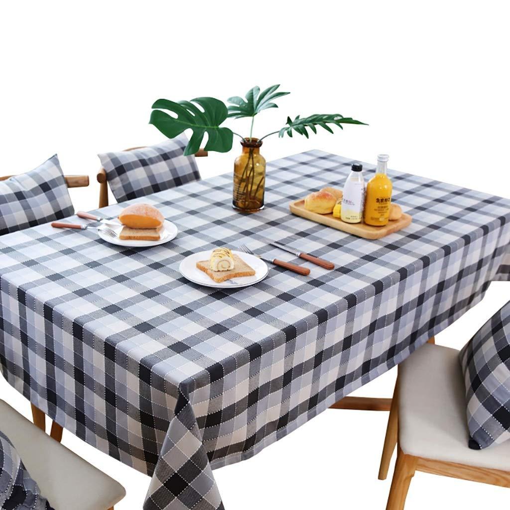 テーブルクロスコットンとリネンの防水家庭用パーティーテーブルクロスに適した抗 - やけ防止オイルプルーフティーテーブルクロス (サイズ さいず : 135x220cm) 135x220cm  B07S8CZ3H2