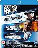 5 Movie Blu-ray Set Lone Survivor / Zero Dark Thirty / Safe House / Green Zone / Contraband