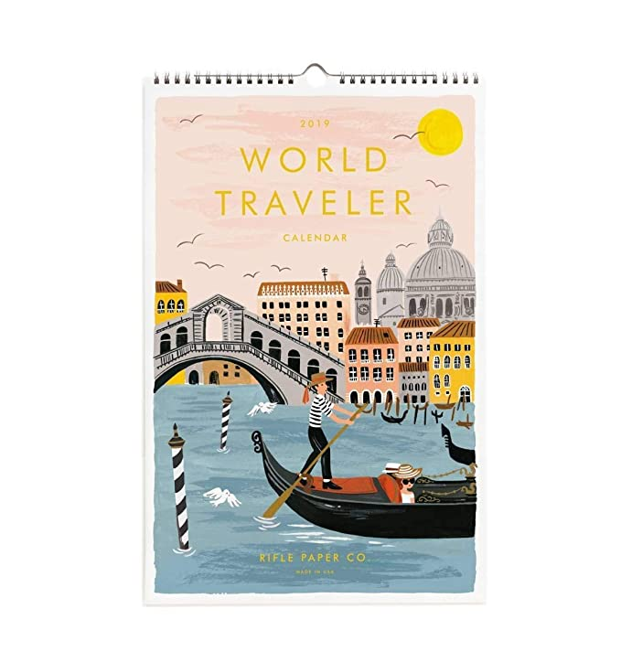 Rifle Paper World - Calendario de pared 2019: Amazon.es ...
