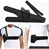 HANDSONIC Deep Concealment Shoulder Holster, Universal Underarm Gun Holster for Men and Women, Fits Subcompact and Compact Pi