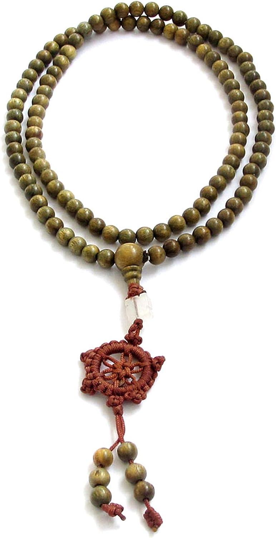 6mm Rosewood Beads Handmade Mala Bracelet Tassel Bangle Meditation Tibetan