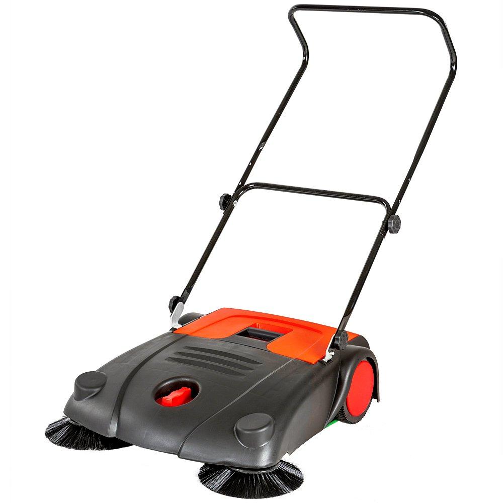 TecTake Barredora mecá nica Manual Barrendero 20 litros Ancho de Trabajo 70 cm