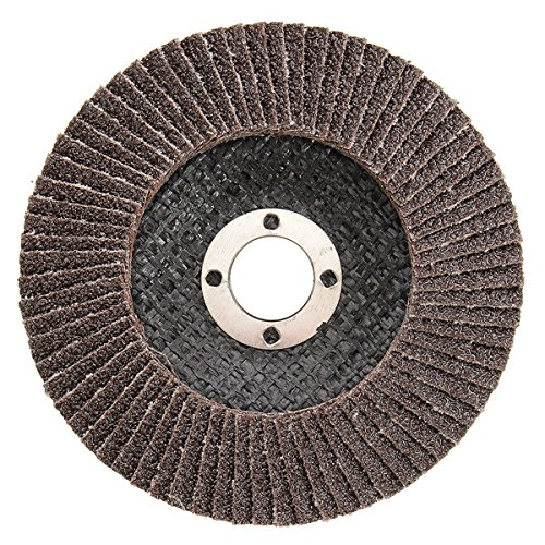 ANVNR - Disco abrasivo para grano 40 60 80 120 (100 mm, grano 40)
