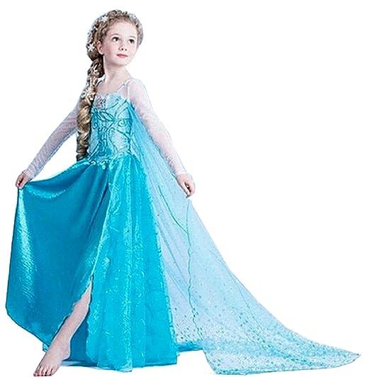 56 opinioni per MNTLLBLFR- 3 Modelli a Scelta dei Costumi di Carnevale Frozen Elsa- Tutte le