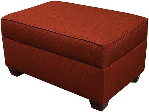 Duobed 24×36 inch Slimline Storage Ottoman – Red