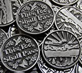 Set of 10 This Too Shall Pass Pocket Token Coins