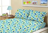 Kute Kids Super Soft Sheet Set - Baby Dinosaurs - Brushed Microfiber for extra comfort … (Twin)