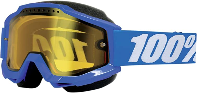 ACCURI Enduro Grey Dblue Lens Gray,Clear, One Size 100/% Unisex-Adult Goggle