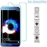 2 x Huawei Honor 8 Pro Verre trempé protecteur d'écran, EJBOTH téléphone protection écran haute définition cribler des films protecteurs pour Huawei Honor 8 Pro - ultra-résistant avec une dureté 9H Anti-bulle.