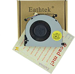 Eathtek Replacement CPU Cooling Cooler Fan for HP ENVY M4 M4-1000 M4-1012TX M4-1003TX M4-1015DX M4-1115 series, Compatible with part numbers 041913A DFS531105MC0T (Note:The part# may be different)