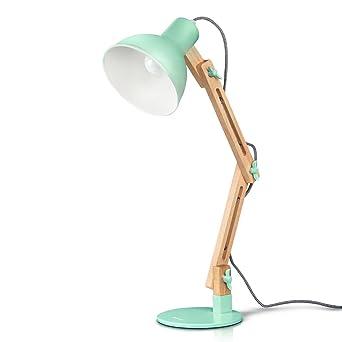 Tomons Moderne Réglable Luminaire De Bureau Original Salon Pose À En Led Architecte Industrielle Table Bois Lampe Design thsQdBorCx