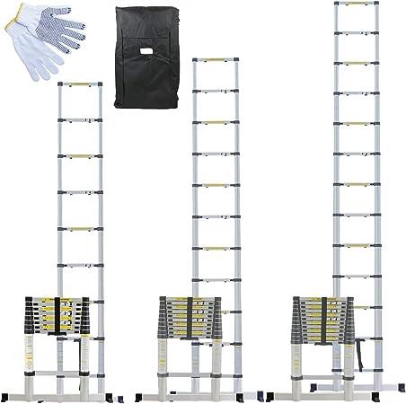 Echelle t/élescopique PRO aluminium 3.20 m/ètres EN131