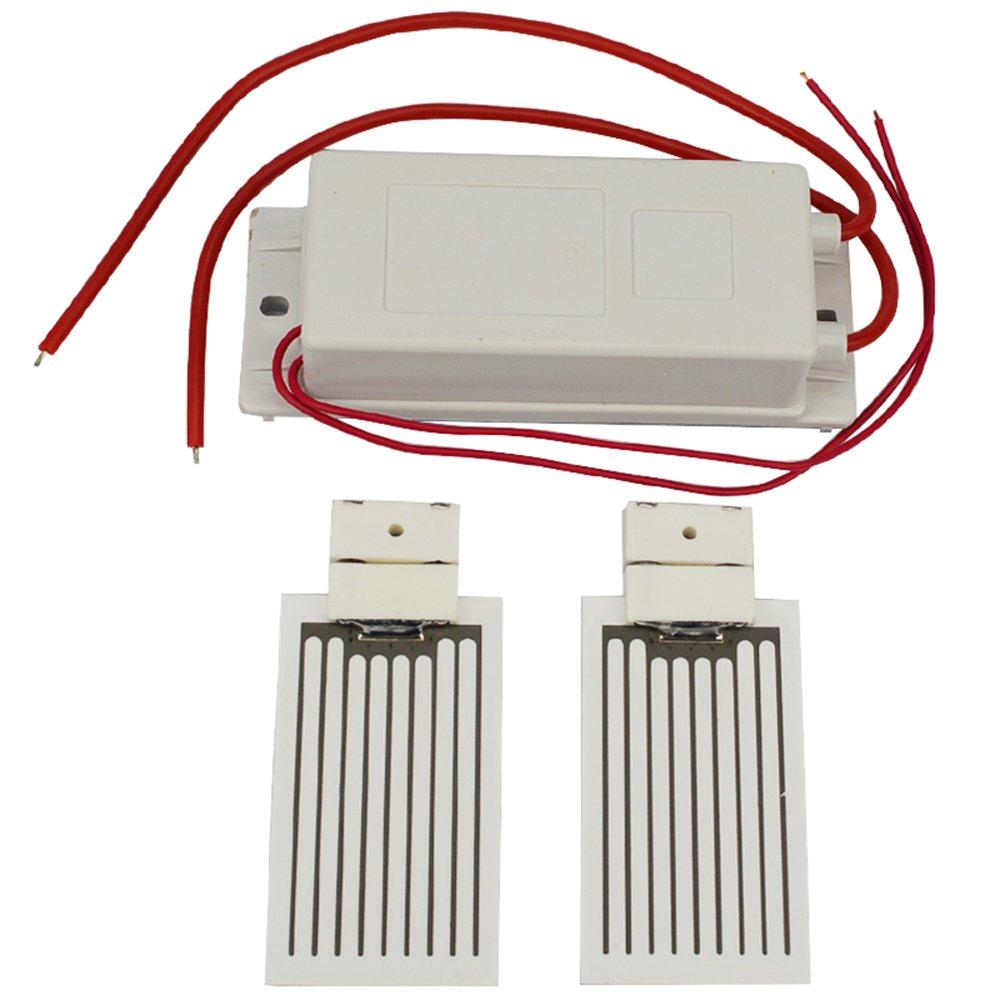 Ozone Generator 12V +2 pcs 3.5g Ceramic Plate (Ozone Generator Accessory) Ozonator (12V)