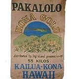 Hawaiian Kona Gold Brand New Novelty Storage or Home Decor Burlap Bag