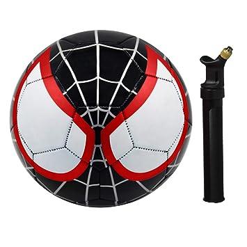 Athlecti Pre Liga Kids Balón de fútbol con Bomba, Miles Morales ...