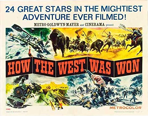 Movie Posters How The West was Won - 27 x 40