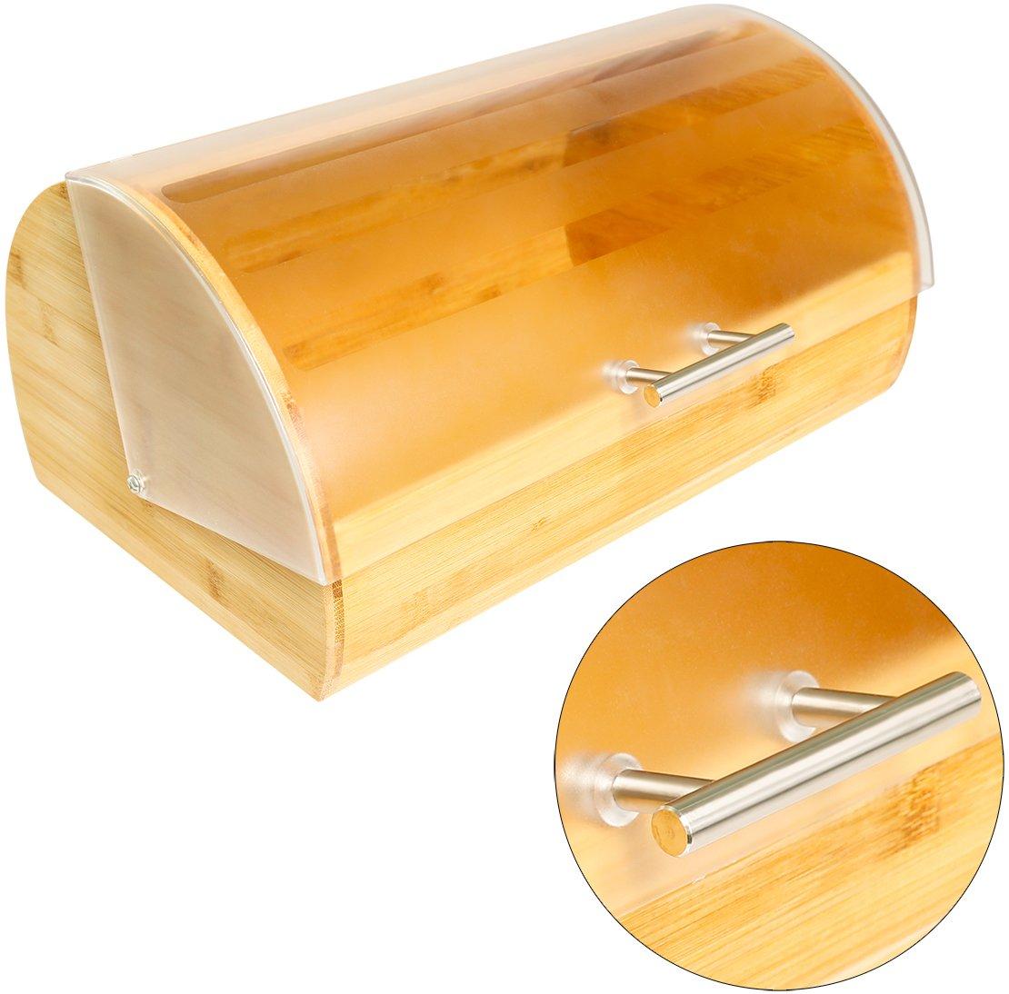 Affilacoltelli in bamb/ù portapane