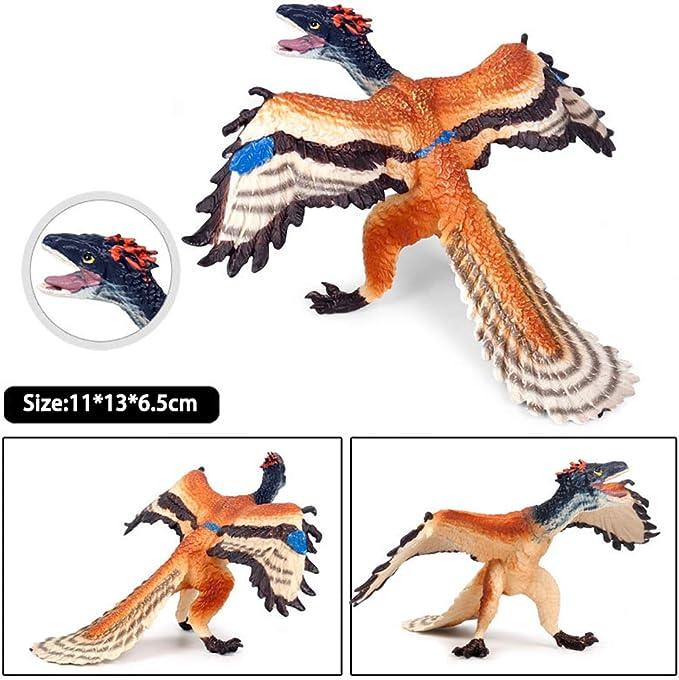 Cryolophosaurus Archaeopteryx Kids Toys Figure Realistic Dinosaurs Model Gift