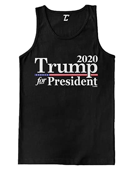9cd0734e641fb Amazon.com  Trump for President 2020 - Re-Election Men s Tank Top ...
