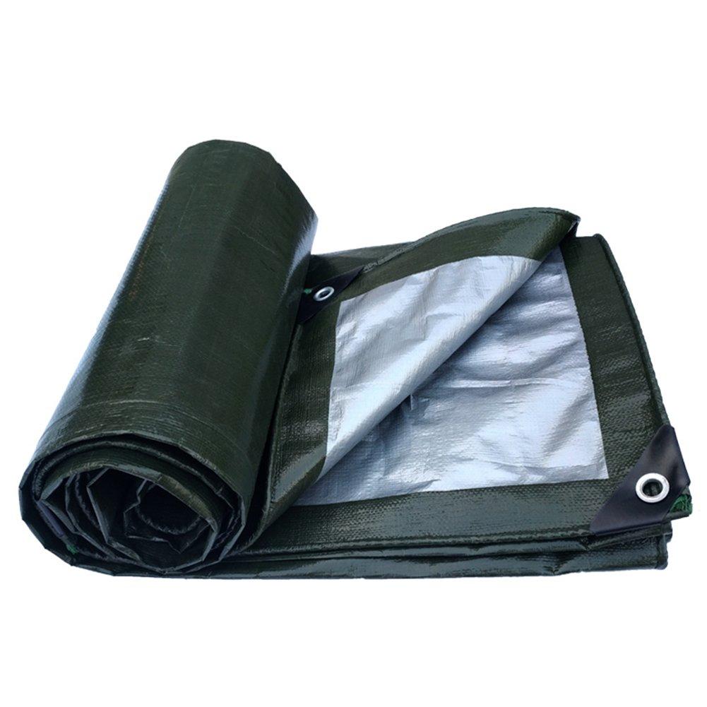 LQQGXL ターポリン厚い防水防水物流トラックの建設防塵windproofプラスチック布高温アンチエイジング 防水シート (色 : 濃紺, サイズ さいず : 4X8M) 4X8M 濃紺 B07JH2H8V6