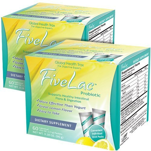 FiveLac Probiotic - 2 Pack by Global Health Trax