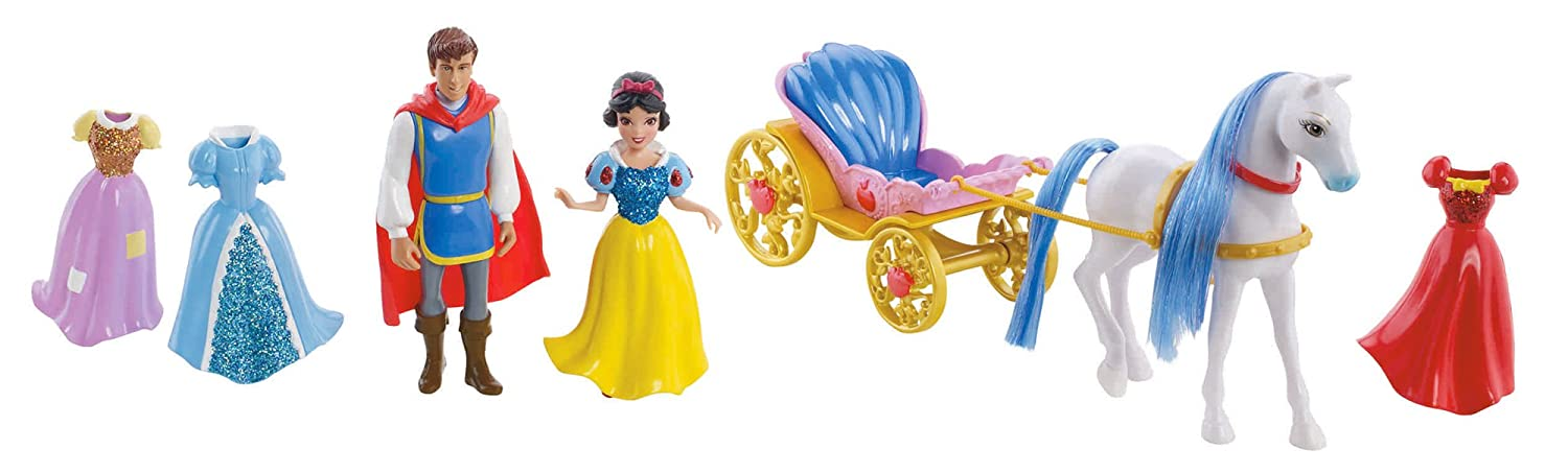 Bambola Wd Principesse Mattel-Deluxe Biancaneve W5604